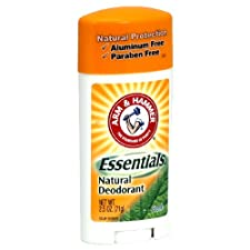Arm & Hammer Essentials Natural Deodorant, Fresh, 2.5 oz.