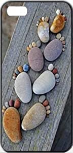 Stone Footprints Stones iPhone 5 Designer Case Cover Protector