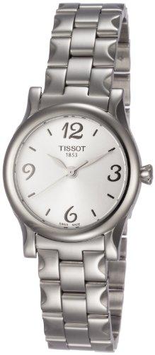 Tissot Women's T0282101103700 Stylis-T Silver Dial Watch