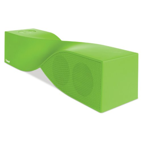 Isound Twist Bluetooth Wireless Mobile Speaker (Rubberized Green)