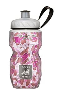 Polar Bottle (Pink Leopard, 12 OZ.- 2 Pack)
