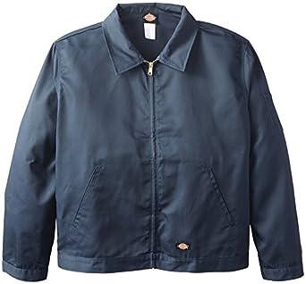 Dickies Men's Unlined Eisenhower Jacket, Dark Navy, Small/Regular