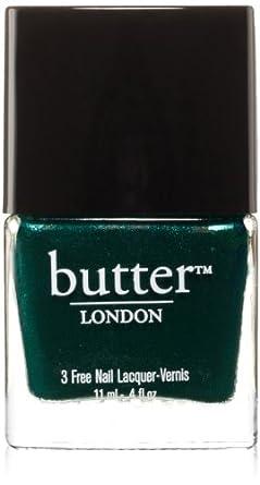 butter LONDON Nail Lacquer, Green Shades, British Racing Green