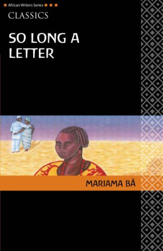 So Long a Letter (African Writers)
