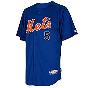 MLB New York Mets Youth David Wright 5 Cool Base Batting Practice Jersey, Royal... by Majestic