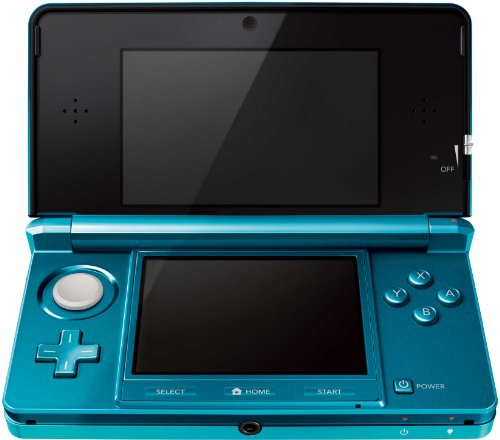 Nintendo 3DS Handheld Console - Aqua Blue