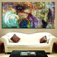 The most famous living room painting abstract for Home decorations amazon