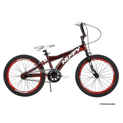 Huffy 20-Inch Boys Spectre Bike (Burst Red on Black)