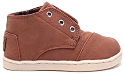 TOMS Kids Unisex Paseo Mid (Infant/Toddler/Little Kid) Brown Synthetic Leather Sneaker 2 Infant M