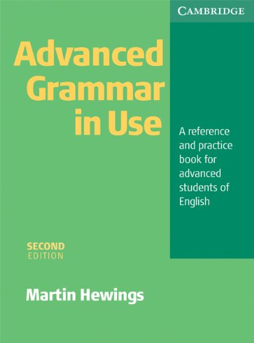 Advanced Grammar in Use without Answers