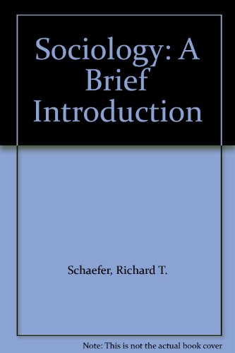 Sociology: A Brief Introduction