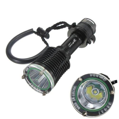 Ultrafire Cree Xml T6 Mirror Reflector Led Diving Flashlight