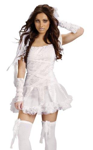Sexy Womens Mummy Monster Bride Halloween Costume