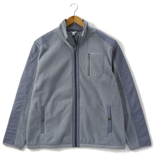 [XL]CALVIN KLEIN(カルヴァンクライン)フリースブルゾン/ジャケット 2196 大きいサイズ メンズ[並行輸入品]【054.グレー-XXL】