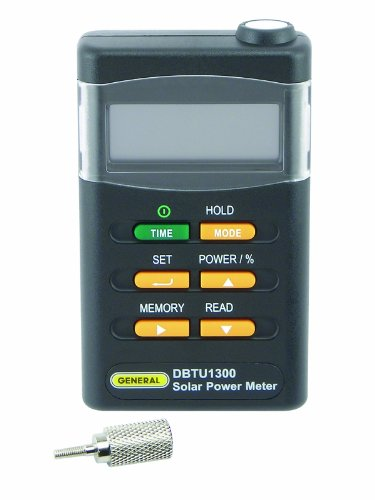 General Tools & Instruments Dbtu1300 Digital Solar Btu Power Meter