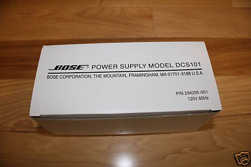 Bose Power Supply (Dsc-101) 120V For Lifestyle V20, V30, 18, 28, 35, 38, 48