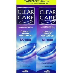 Clear Care Cleaning & Disinfecting Solution Packs)