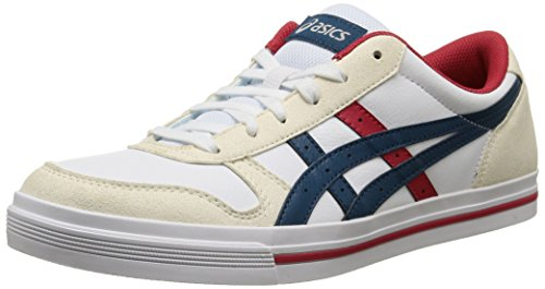 ASICS Aaron, Unisex-Erwachsene Sneakers, Weiß (white/legion Blue 0145), 44 EU thumbnail