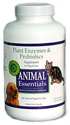 Animal Essentials Inc Plant Enzyme & Probiotics Powder for Dogs & Cats