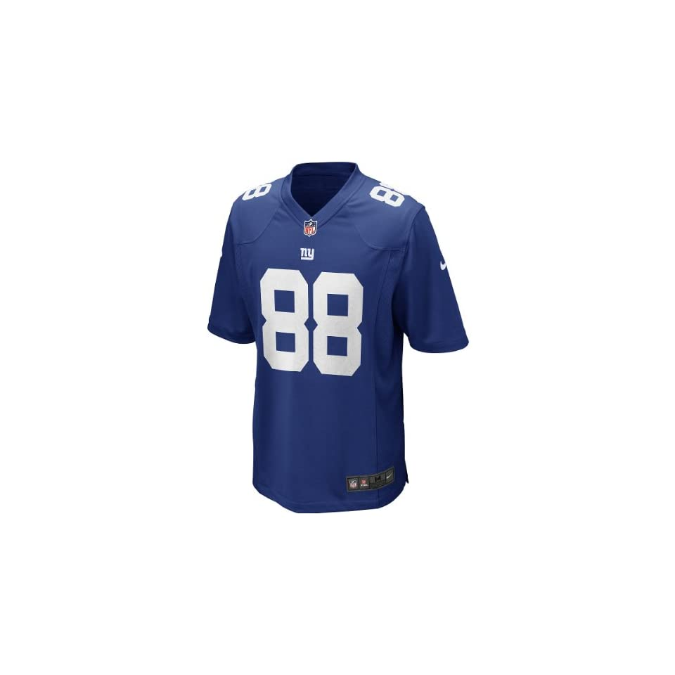 Mens Nike NFL Hakeem Nicks Home Game Replica New York Giants Jersey Size Large