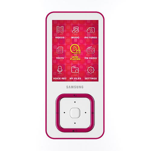 Samsung Q3 4GB MP3 Player – Pink