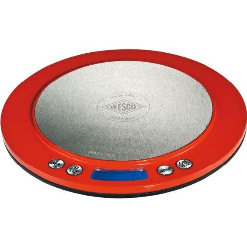 Wesco 322 251-02 Balance électronique (Rouge)
