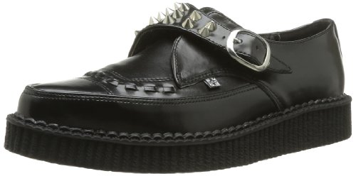 T.U.K. Shoes - Scarpe, Unisex - adulto, Nero  (Noir (Black)), 37