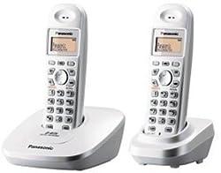 Panasonic Single Line 2.4GHz KX-TG3612 BX1 Digital Cordless Telephone (White)