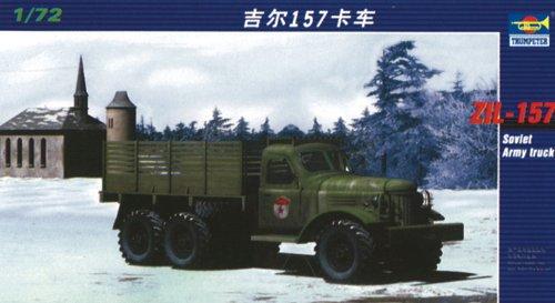 トランペッター 1/72 ZiL-157 ソビエト軍 トラック