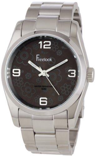 Freelook Women's HA5304-3 Viceroy Flowers Brown Dial Stainless-Steel Case and Bracelet Watch