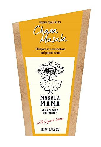 Indian Spice Kit For Chana Masala (Chickpeas) - Organic Spice Blends By Masala Mama
