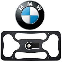 The Platypus Pro Series for BMW 3 Series (E90/E91) Tow Hook No Drill Front License Plate Mount 2006-2011 by CravenSpeed