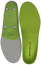 Superfeet Green Premium Insoles,Green,F: 12.5+ US Womens/11.5 - 13 US Mens