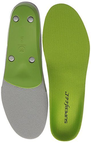Superfeet Green Premium Insoles,Green,C: 6.5 - 8 US Womens/5.5 - 7 US Mens