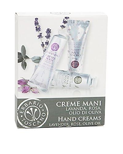 Erbario Toscano Olive, Lavender & Rose Hand Creams Gift Set