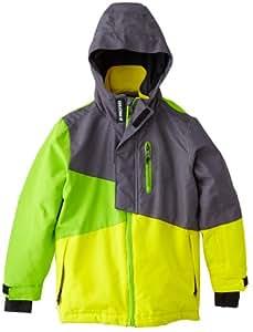 Protest Garden Veste de ski garçon Sunglow FR : 8 ans (Taille Fabricant : 128)