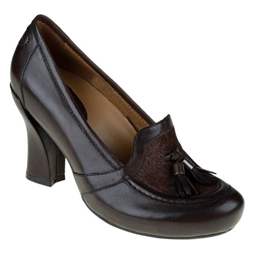 Earthies Womens Pump Heels Size 8 M 800562Wclf29 Carenna Bark Leather