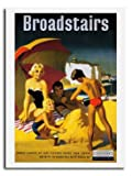 Broadstairs Kent Southern Railways Poster Print 1950s - Approx 40 x 30 cms (15.5 x 11.5 Inches)