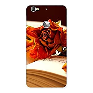 Cute Rose Book Back Case Cover for LeTV Le 1s