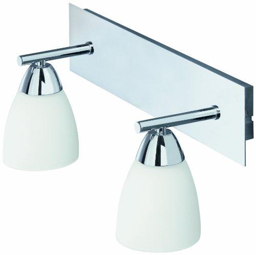 Fergie rossa briloner leuchten 2102 028 splash lampada da bagno hvh a 2 luci attacco g9 - Lampada da bagno ...