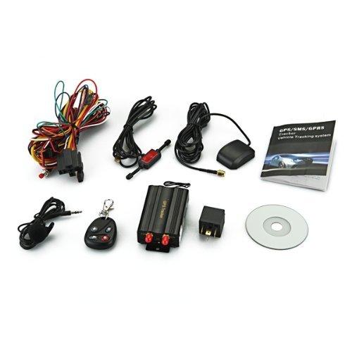 TOOGOO(R)TK103B Cars Auto GSM/ GPRS/ GPS Device Locator Alarm Tracker Set + Remote Control