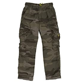 LITTLE BOYS Brooks 360 Camo Cargo Pants