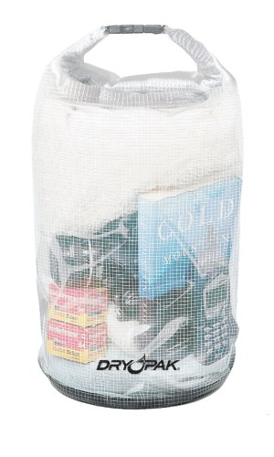Dry Pak WB-9 Roll Top Dry Gear Bag, Reinforced Clear,