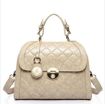 Carlo Dinah Women's Japanese and Korean Version of the Retro Embossed Buckle Sweetheart Wind Series Mobile Messenger Handbag