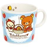 リラックマ マグカップ(いちごテーマ・ブルー) TK72801