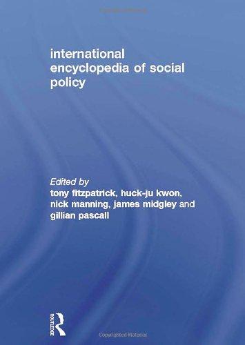 International Encyclopedia of Social Policy 3 VOL. SET