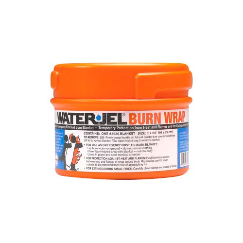 Waterjel 2871 Water-Jel Burn Wrap Blanket in Canister,  3' Length x 2-1/2' Width, Canister Pack at Sears.com