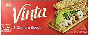 Dare Vinta Crackers, Original, 8.8-Ounce Boxes (Pack of 12)