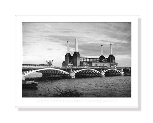フォトポスター ビル・フィリップ バタシー発電所、ロンドン Bill Philip: Battersea Power Station, London