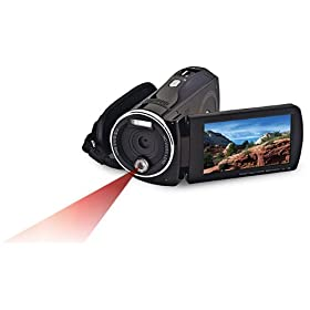 Bell+Howell DNV900HD Night Vision 1080p High Definition Digital Video Camcorder with 3.0 Inch Touchscreen LCD